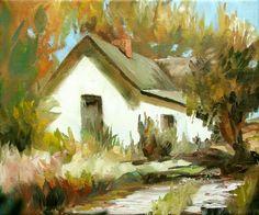 Oil on canvas by Joe Cousin, a favorite UK artist