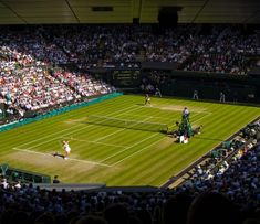 The Wimbledon Tennis Championship had started in 1877 and has been held in the All England Club situated in Wimbledon, London, ever since. Lawn Tennis, Tennis Tips, Tennis Tournaments, Tennis Players, Wimbledon Tennis, Wimbledon London, Leeds Castle, Continents, Destinations