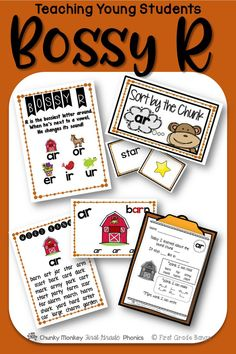 Young students need to master r-controlled vowels to become successful readers!  This unit has everything you need to teach these sounds- from mini-lessons and word banks to independent work and literacy center activities. $