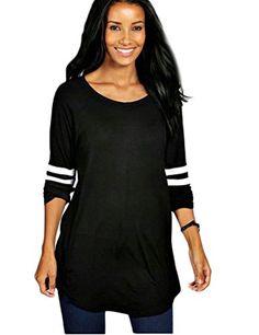 OURS Womens Plus Size Baseball T-Shirt Loose Long Blouse ... https://www.amazon.com/dp/B01KV7PY5M/ref=cm_sw_r_pi_dp_x_aijRybNJGWKQZ