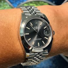 Rolex Datejust Dark Rhodium