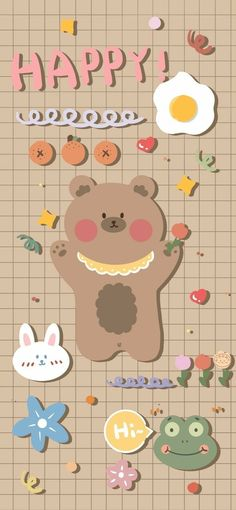 Cute Pastel Wallpaper, Soft Wallpaper, Cute Wallpaper For Phone, Kawaii Wallpaper, Galaxy Wallpaper, Iphone Wallpaper, Pottery Painting Designs, Cute Cartoon Wallpapers, Aesthetic Stickers
