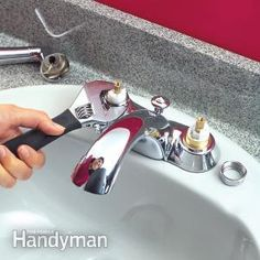 Quickly Fix Leaky Cartridge-Type Faucets--Whether your faucet leaks from the spout or handles, you'll find it easy to repair with these tips.