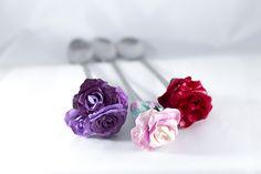 Essmes wyroby handmade: Kwiatowe łyżeczki