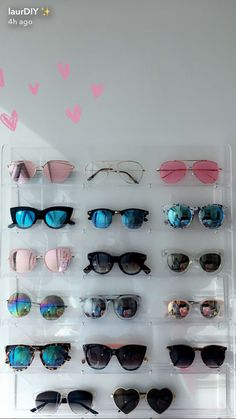 Incroyable Sunglasses Collection Storage