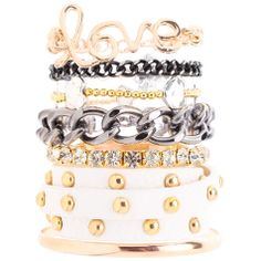 Image for Karyn In La Studded Wristband Pack from City Beach