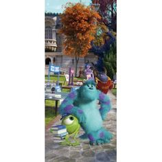 Monsters, Inc. - Mike and Sully, A Good Team x Wallpaper Trellis Wallpaper, Star Wallpaper, Wall Wallpaper, Pixar, Mike And Sully, Buy Wallpaper Online, Paradise Garden, Monsters Inc, Hazelwood Home
