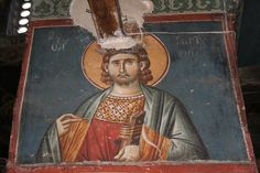 Medieval church or Privlepta, Ohrid, Macedonia Fresco, Medieval, Projects To Try, Macedonia, Painting, Irene, Decorations, Fresh, Painting Art