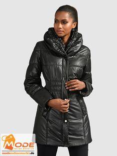 Diese Steppjacke von Alba Moda unterstreicht perfekt Ihre ganz eigene Note Sie hat einen Schalkragen Für das Wohl... #BAUR #AlbaModa #Rabatt #25 #Marke #Alba #Moda #Farbe #grau #schwarz #Material #Polyester #Onlineshop #BAUR #Damen #Bekleidung #Damenmode #Jacken #Mäntel #Sale #Steppjacken | sportliche Outfits, Sport Outfit | #mode #modeonlinemarkt #mode_online #girlsfashion #womensfashion Alba Moda, Sport Outfit, Mode Online, Material, Winter Jackets, Leather Jacket, Note, Fashion, Colour Gray