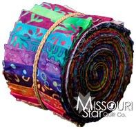 Bright Jewels Sushi Roll by Princess Mirah Design for Bali Fabrics