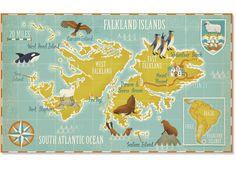 Stuart Kolakovic / elected examples of the 56 Maps published over 12 issues Lonely Planet Magazine