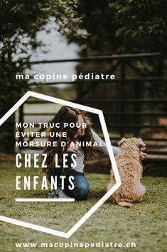 mon truc simple pour éviter morsures et griffures d'animaux chez mes enfants