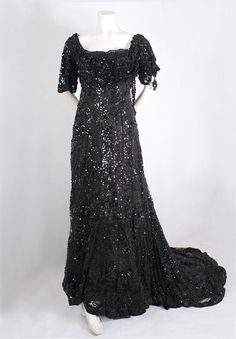 1910 evening gown