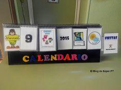 MATERIALES MANIPULATIVOS El calendario móvil