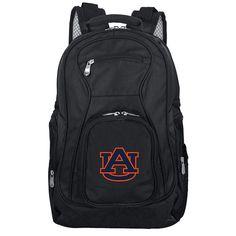Auburn Tigers Premium Laptop Backpack, Black