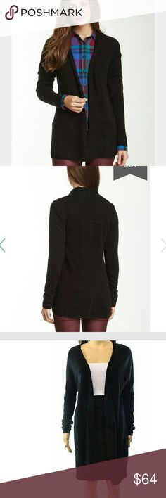 100% cashmere black cardigan Super soft and cozy 100% cashmere cardigan. Originally $80. NWT. 14th and Union brand. 14th and Union Sweaters Cardigans