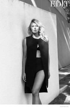 maria sharapova photoshoot 2014 03 774x1200 Maria Sharapova Stars in The Edit, Talks Her Simple Life