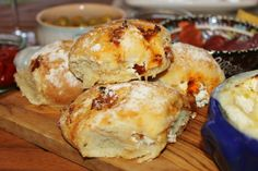 Sun-dried Tomato and Goats Cheese Bread Rolls | Homemade With Mess