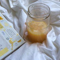 "orbiital: "" a yellow page & a jar of orange juice """