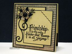 IC217 Friendship by ctorina - Cards and Paper Crafts at Splitcoaststampers
