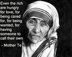 Mother Teresa #wisdom #love