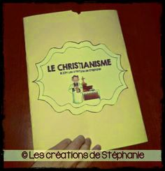 Les créations de Stéphanie: Lapbook : Le christianisme Les Religions, Cycle 3, Interactive Notebooks, Teaching Tools, Homeschool, Creations, Craft, Desserts, Culture