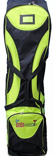Birdie Babe Ladies Golf Club Bag Travel Cover Lime Green -- Click image for more details.