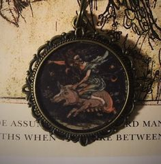 Witch ketting, hanger fantasie, sprookje sieraden; Goth ketting; Pagan; Wicca…