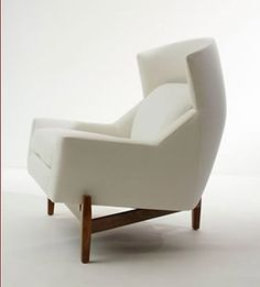 | P | One of my favourite Wing Back Chairs - Jens Risom from Ralph Pucci
