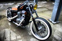 Honda Shadow 600 bobber | Bobber Inspiration - Bobbers and Custom Motorcycles | rtessmann August 2014