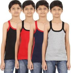 Innerwear Kid's Boy's Cotton Vest(Pack Of 5) Fabric:Cotton Sleeves: Sleeves Are Not Included Size: Age Group (0 Months - 3 Months) - 10 in Age Group (3 Months - 6 Months) - 12 in Age Group (6 Months - 9 Months) - 12 in Age Group (9 Months - 12 Months) - 14 in Age Group (12 Months - 18 Months) - 16 in Age Group (18 Months - 24 Months) - 18 in Age Group (2 - 3 Years) - 20 in Age Group (3 - 4 Years) - 22 in Age Group (4 - 5 Years) - 23 in Age Group (5 - 6 Years) - 24 in Age Group (6 - 7 Years) - 26 in Age Group (7 - 8 Years) - 27 in Age Group (8 - 9 Years) - 27 in Age Group (9 - 10 Years) - 27 in Age Group (10 - 11 Years) - 27 in Age Group (11 - 12 Years) - 28 in Age Group (12 - 13 Years) - 29 in Age Group (13- 14 Years) - 29 in Age Group (14 - 15 Years) - 29 in Type: Stitched Description: It Has 5 Pieces Of Kid's Boy's Vests Work :Printed Country of Origin: India Sizes Available: 0-3 Months, 0-6 Months, 3-6 Months, 6-9 Months, 6-12 Months, 9-12 Months, 12-18 Months, 18-24 Months, 0-1 Years, 1-2 Years, 2-3 Years, 3-4 Years, 4-5 Years, 5-6 Years, 6-7 Years, 7-8 Years, 8-9 Years, 9-10 Years, 10-11 Years, 11-12 Years, 12-13 Years, 13-14 Years, 14-15 Years   Catalog Rating: ★4.1 (8870)  Catalog Name: Elegant Kid's Boy's Cotton Vests Vol 9 CatalogID_228732 C59-SC1187 Code: 592-1745578-786