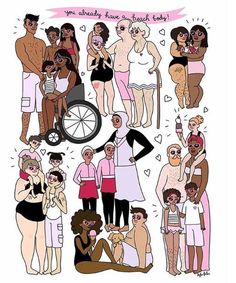 Find images and videos about drawing, body positive and body posi on We Heart It - the app to get lost in what you love. Body Love, Loving Your Body, Perfect Body, Art And Illustration, Image Citation, Feminist Art, Feminist Quotes, Body Confidence, Intersectional Feminism