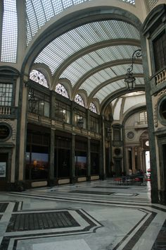 Gallery in Turin