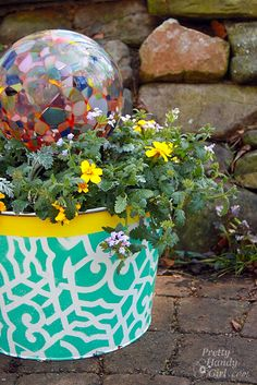 How to Make a Planter out of an Ice Bucket
