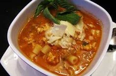 """skinny"" pasta fagioli.  i made this for dinner tonight and it was so yummy!"
