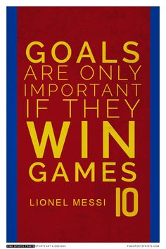 """""""Lionel Messi Quote on Print. See more at www.finesportsprints.com #messi #sportsquote #barcelona"""""""