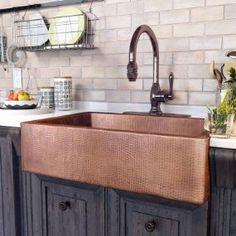 Copper sink $598 Amazon