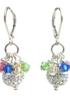 Christmas+Holidays+Party+Gift+Pave+Ball+Multicolor+Crystals,++Jewelry,+Christmas+Holidays+Christmas+Party+Christmas+Gift,+Chic