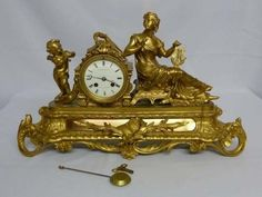 Careful Mantel Clock From Bristol And Children Women Ct With Unusual Hot Air Balloon Motif Suitable For Men