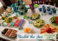 Mermaid Under the Sea birthday Party from too Much Time On My Hands 1 copy