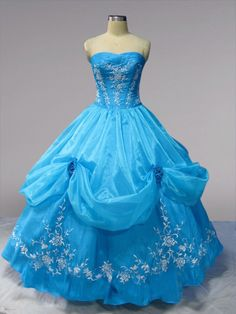 quinceanera | ... Blue Quinceanera Dresses Tiered Skirt with Lace Quinceanera Dress