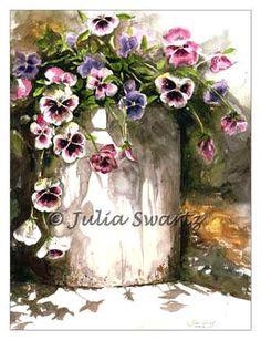 http://juliaswartz.com/images/Print_images/Pansies_watercolor_painting_l.jpg