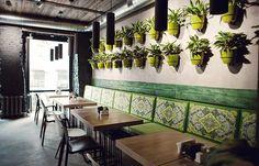Fresh' Restaurant designed by Sundukovy Sisters