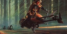 Ralph McQuarrie's artwork alone makes the booklet to the Star Wars Anthology a compelling collector's item.