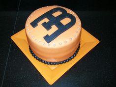 Bugatti logo cake Birthday Cakes For Men, Birthday Ideas, Bugatti Logo, Racing Cake, Minnie Mouse, Cake Logo, 14th Birthday, Cake Decorations, Cakes And More