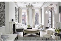 Bright white | featured in @elledecor  via @myworldofinteriors