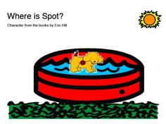 free printable book inspired by Where's Spot? by Eric Hill. -  Pinned by @PediaStaff – Please Visit http://ht.ly/63sNt for all our pediatric therapy pins