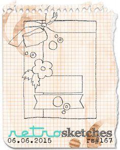 Retro Sketches Challenge #167
