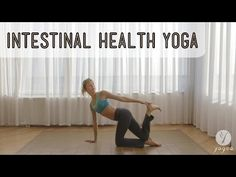 Intestinal health Yoga Routine: Healthy Gut (open level) - YouTube