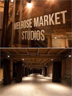 Seattle wedding venue, Melrose Market Studios
